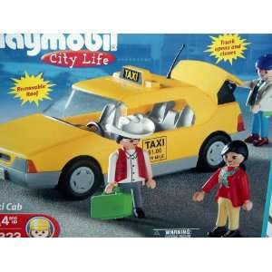 Playmobil 3323 City Life Taxi Cab Toys & Games