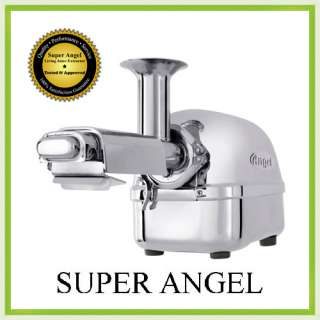 NEW Super Angel 5500 Stainless Steel Juicer