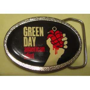 Green Day American Idiot belt buckle