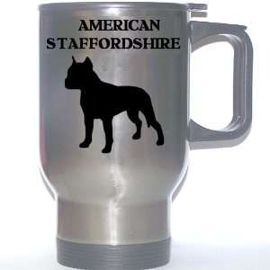 American Staffordshire Terrier Dog Stainless Steel Mug