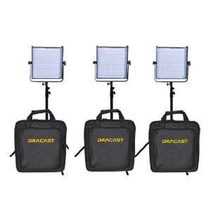 3 Light LED 1000 Kit (Daylight, Flood)