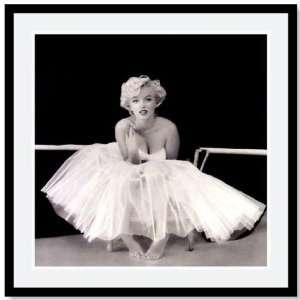Marilyn Monroe Framed Art 25square Bkrs Wht/md Gry
