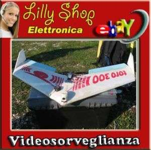 Telecamera per Modellismo Aerei/Auto Colore Wireless