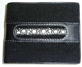 Stingray Wallet, Genuine Stingray Leather Mens Wallet
