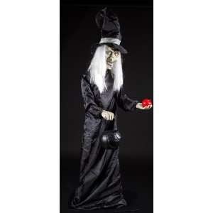 Halloween Scary Witch 5 Animatronic Prop Decoration Toys & Games