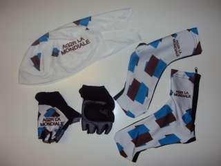 AG2R La Mondiale Team Cycling Set Jersey Bib Shorts XXL