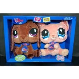 Littlest Pet Shop VIP Friends   Dog and Mouse: Toys