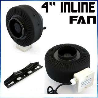 Bran New 4 Inch Inline Duct Fan Blower Hydroponic Air Ventilation