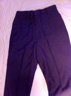 AIR FORCE US TROUSERS DRESS PANTS MENS POLY/WOOL SERGE USAF BLUE 1620