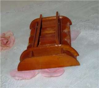 VNT WOOD PLASTIC DOLLHOUSE MINI. CHINA CABINET HUTCH