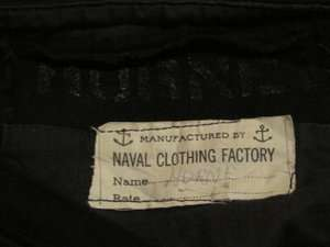 VNT World War II US Navy Suit Uniform Shirt Pants Hat Scarf Tie For R