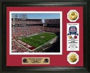 Alabama Crimson Tide 2012 BCS National Championship Game Gold Coin