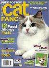 CAT FANCY Magazine, Nov 2011, LN: 12 Food Allergy Facts, Devon Rex