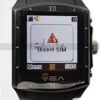 Mobile Cell Phone Wrist Watch  MP4 1.5 Touchscreen