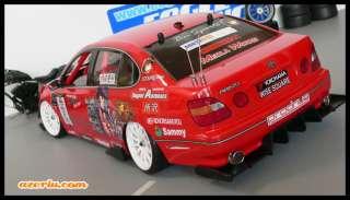 10 Body Rear Diffuser Drift Race Tamiya HPI VDF TA05