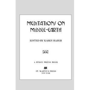 on Middle Earth (9780312703325) Karen Haber, John Owen Books