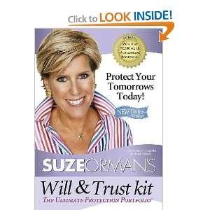 Suze Ormans Will & Trust Kit Suze Orman Books