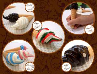 Ice Cream Pen Food School Supplies Gift Stationery Play