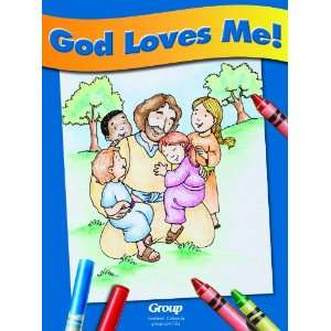 High Seas God Loves Me Coloring Book (High Seas (Group