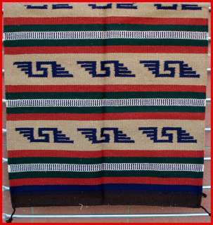 Western Southwestern Design ~Hacienda~ Saddle Blanket/Throw Rug 32 X