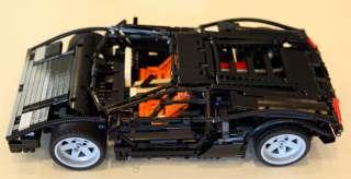 LEGO CUSTOM TECHNIC LAMBORGHINI COUNTACH LP400 SUPER CAR LIMITED RARE