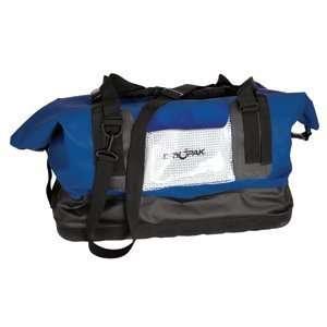 Dry Pak Waterproof Duffel Bag Blue Large