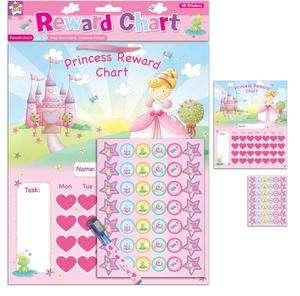 Reward Chart Kids Children Good Behavior Monitor Brand New Reuseable