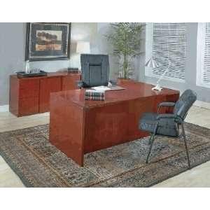 (Free Delivery) SONOMA Executive Desk and Credenza: Home & Kitchen