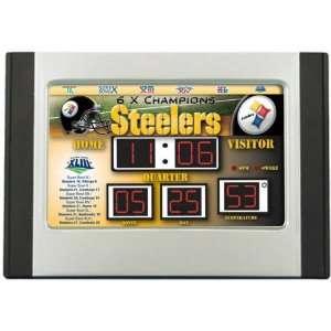 Pittsburgh Steelers Scoreboard Super Bowl Alarm Clock