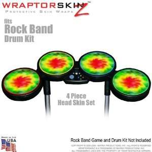 Drum Set for Nintendo Wii, XBOX 360, PS2 & PS3 (DRUMS NOT INCLUDED