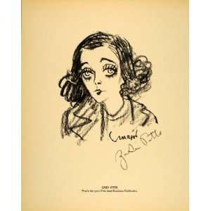 1938 Zasu Pitts Film Actress Henry Major Lithograph