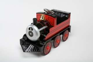 New Vintage Kids Toy Pedal Car Train Engine   Red