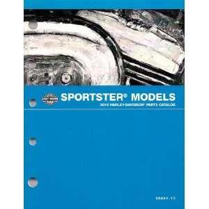 2010 Harley Davidson Sportster Models Parts Catalog, Part No. 994151