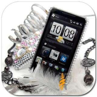 BLING Snap On Hard Skin Case HTC Touch HD 2 HD2 II