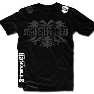 Stryker New Mens Mma Shorts Sleeve T Shirt Top Tapout UFC Boxing