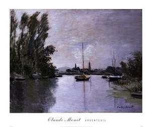 NEW Argenteuil by Claude Monet LARGE SCENIC LANDSCAPE