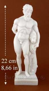 Hercules Man Myth Lion Marble Art Sculpture Sculptures