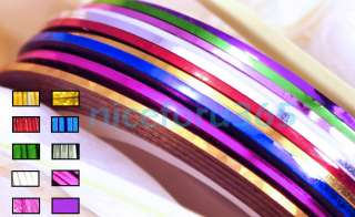 Striping Tape Line Tips Nail Art Decoration Sticker DIY Design