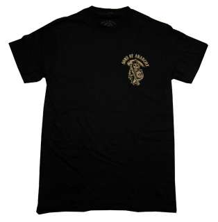 Sons Of Anarchy Grim Reaper Logo TV Show T Shirt Tee