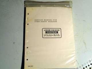 John Deere Power Trol Service and repair Manual 520 530 620 630 720