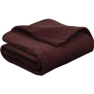 Sunbeam Soft Comfy Heated Throw Blanket   Walnut