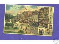HTL145 Hold to Light postcard, Koehler, Tremont, Boston