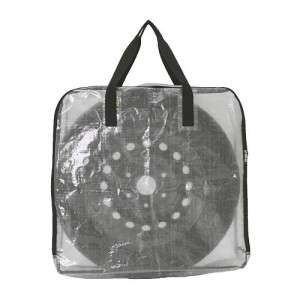Shopping Grocery Storage Bag Case with Zipper Transparent