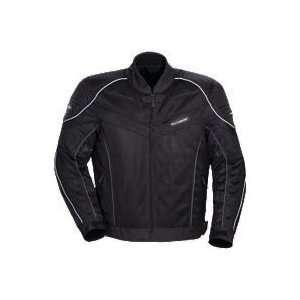 Tour Master Intake Air 2 Jacket   Large/Black Automotive