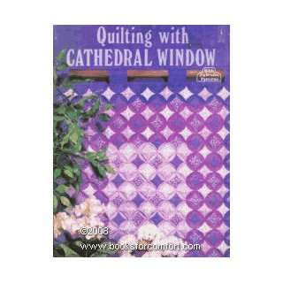 cathedral window quilt pattern - YouTube