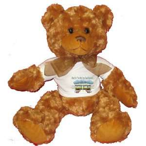 And On The 8th Day God Created MAMBO DANCING Plush Teddy