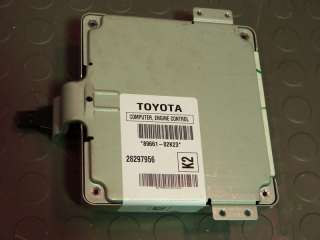 2005 05 Toyota Corolla ECU ECM Engine Computer AT 89661   02k23