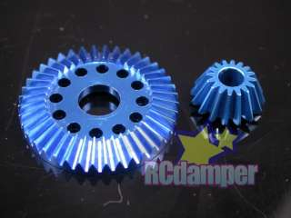 ALUMINUM DIFFERENTIAL RING PINION GEAR B ASSOCIATED B44