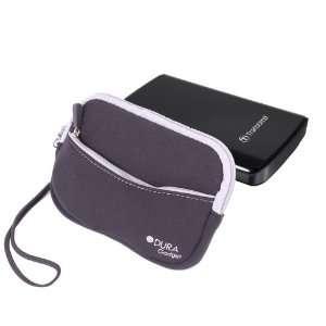 DURAGADGET Water Resistant Black Neoprene Carry Pocket For