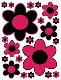 LADYBUG LADY BUG FLOWER BABY WALL BORDER STICKER DECALS